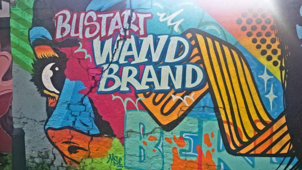 Streetart Berlin busart wandbrand be kitschig blog