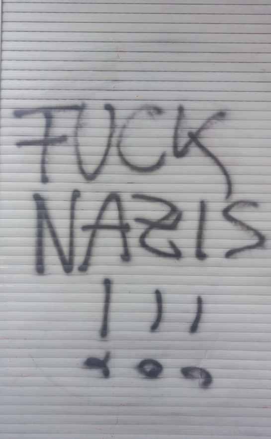 Fuck Nazis #berlin #graffiti #streetart