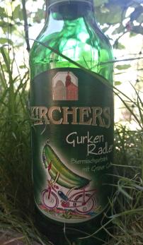 Kirchers Gurken Radler Biermischgetränk mit Gurkensaft