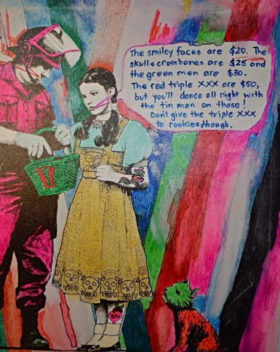 Cole Larsen Banksy Homage painting