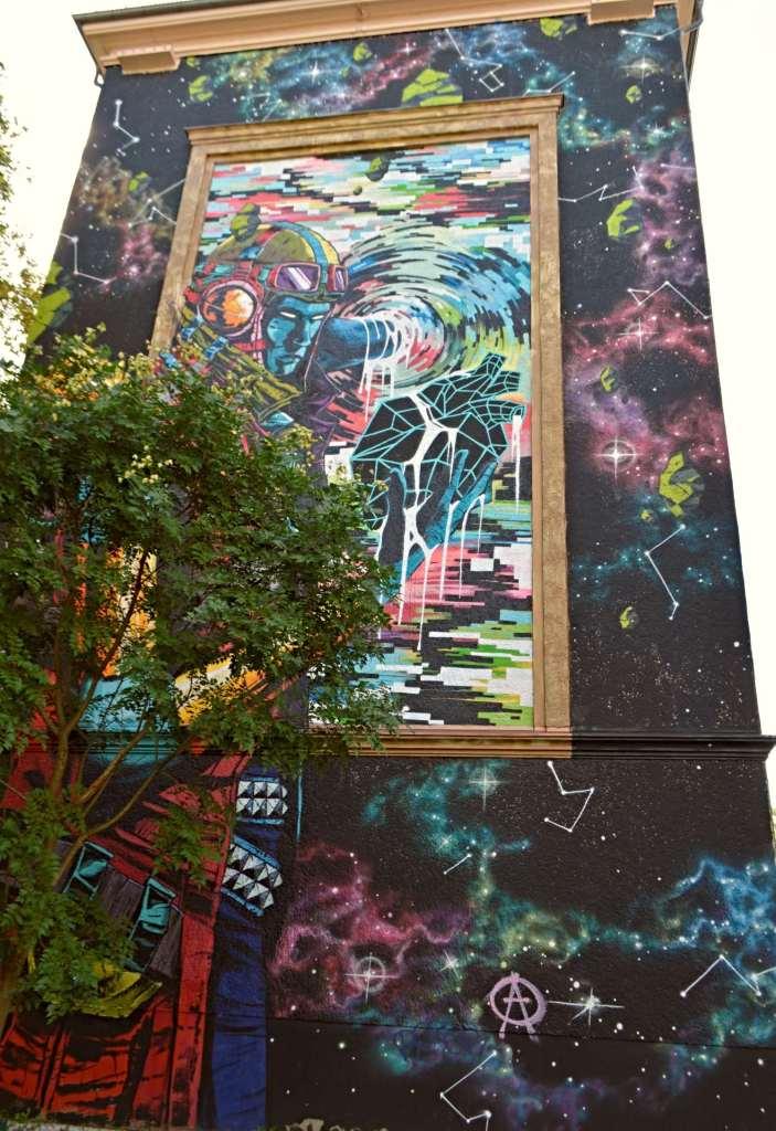 Berlin Pankow Prenzlauer Berg Strasenkunst Streetart Mural Wandbild DEIH