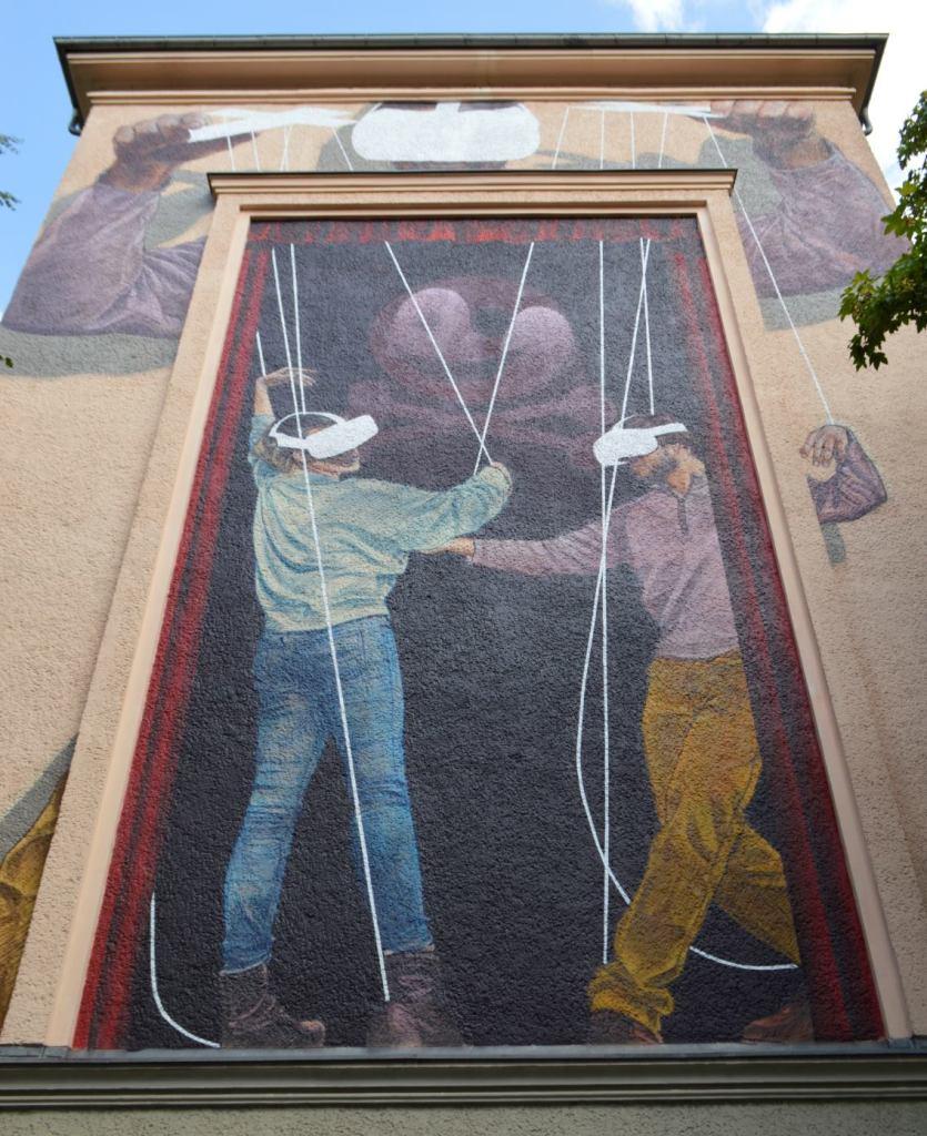 Innerfield Wandbild Mural Strassenkunst Prenzlauer Berg Berlin be kitschig blog