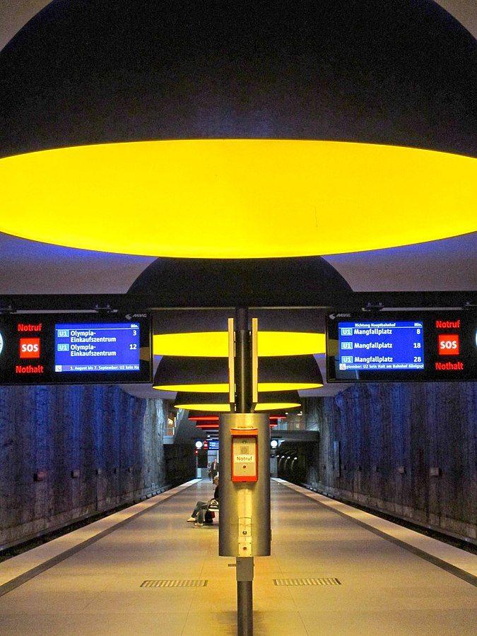 Ingo Maurer Licht U Bahnhof München